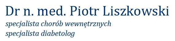 Specjalistyczny Gabinet Diabetologiczny - Dr n. med. Piotr Liszkowski
